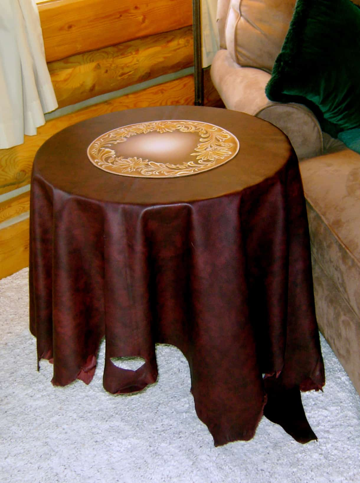 Leather Table Cloth